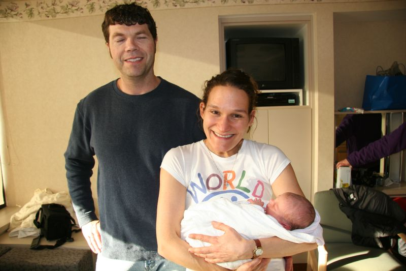 Aunt Jerri Ann and Uncle Rob and Christian
