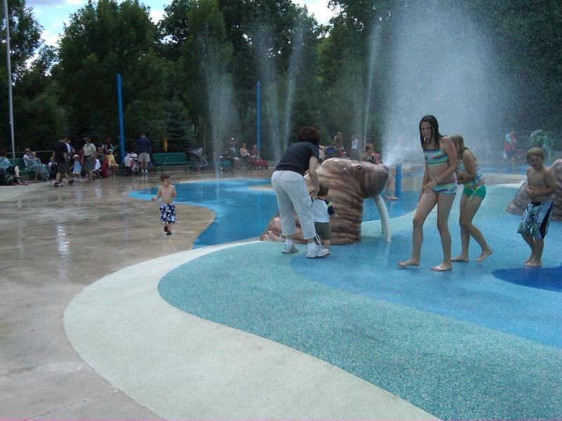 Splash Park at the Toronto Zoo
