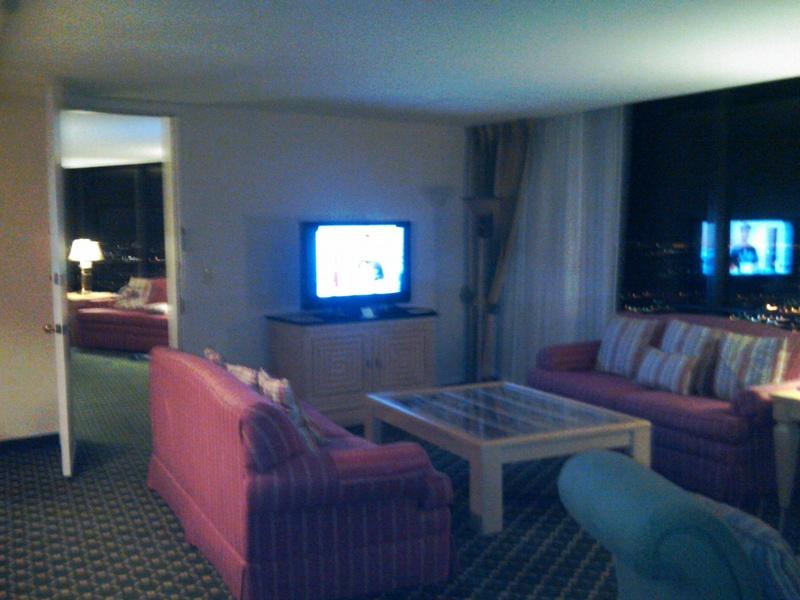 Main living room TV area