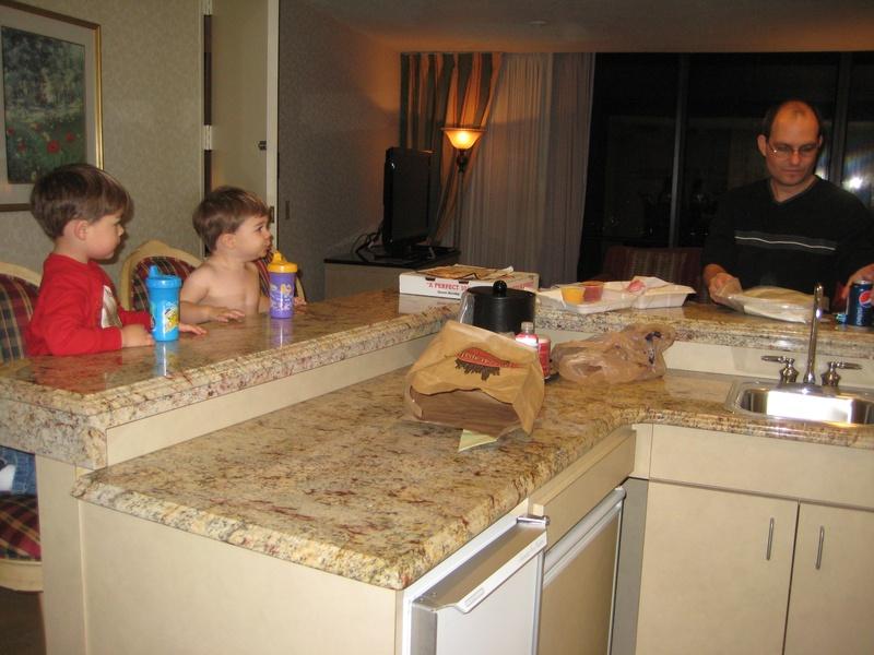 Enjoying Pizza Papalis