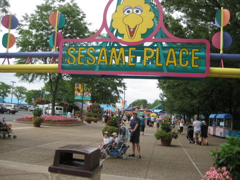 Back to Sesame Place